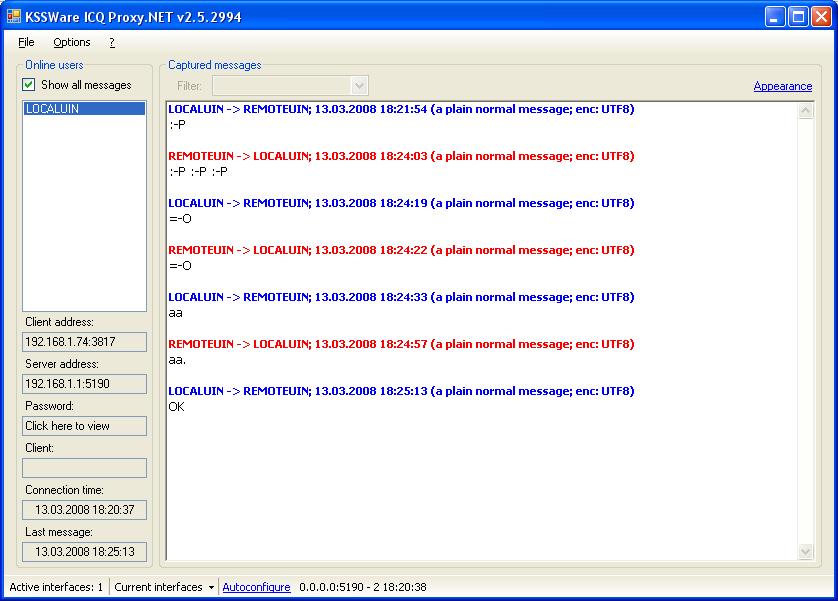 Icq Server